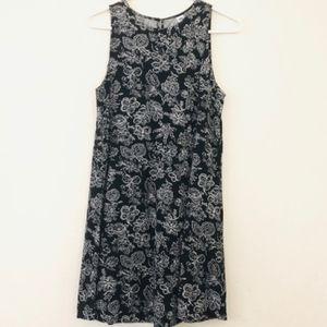 Old navy sleeveless floral swing dress XXL